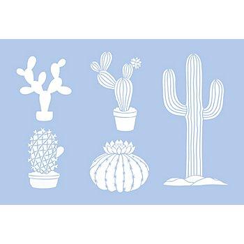 buttinette Schablone 'Kaktus'