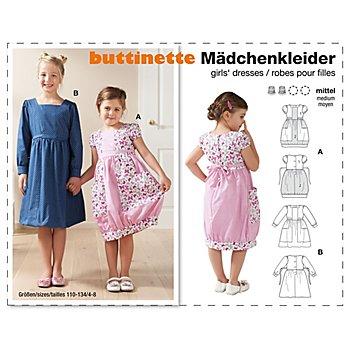 buttinette Schnitt 'Mädchenkleider'