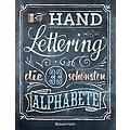 """Buch """"Handlettering – die 33 schönsten Alphabete"""""""