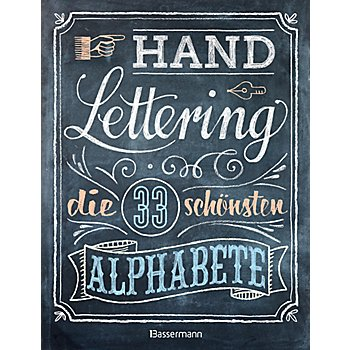 Buch 'Handlettering – die 33 schönsten Alphabete'
