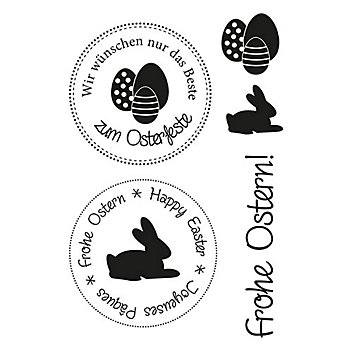Clear Stempel-Set 'Ostern'
