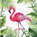 "Papierservietten ""Flamingo"", 33 x 33 cm, 20 Stück"