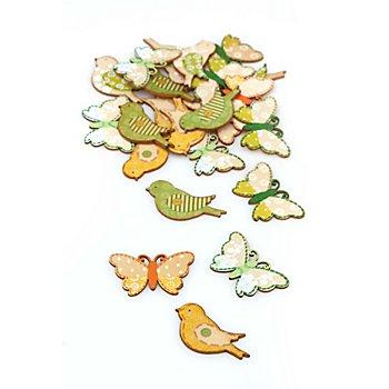 Streuteile 'Frühling', 4 cm, 24 Stück