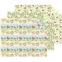 Ursus Set de carton teinté 'paresseux', 21 x 29,7 cm, 12 feuilles