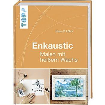 Buch 'Enkaustic – Malen mit heißem Wachs'