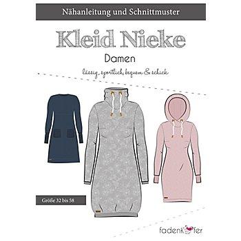 Fadenkäfer Schnitt 'Sweat-Kleid Nieke' für Damen