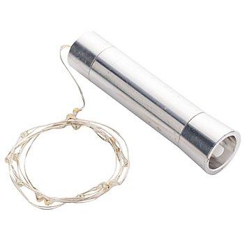 LED Micro-Lichterkette 'Flasche' mit Batteriefach, 10 LEDs