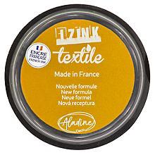 IZINK Textil Stempelkissen, gelb