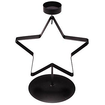 Metall-Teelichthalter 'Stern', 17,5 x 24 cm