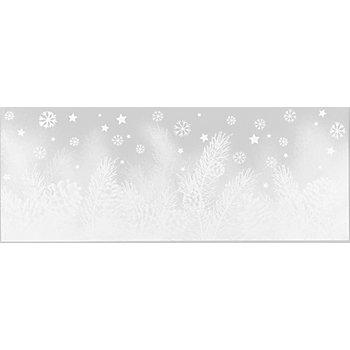 Image pour fenêtre 'branche/pommes de pin', 20,5 x 53 cm