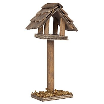 Vogelhäuschen aus Holz, 10,5 cm