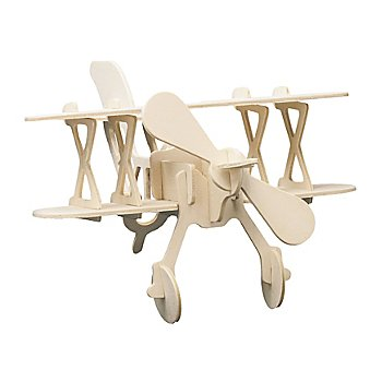 Kit créatif maquette en bois 'avion', 22 x 16 cm
