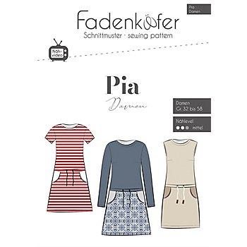 Fadenkäfer Schnitt 'Kleid Pia' für Damen