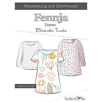 Fadenkäfer Schnitt 'Bluse/Tunika Fennja' für Damen