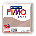 Fimo soft, taupe, 57 g