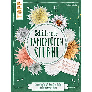 Buch ''Schillernde Papiertütensterne'