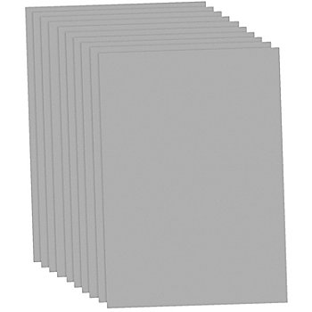 Tonzeichenpapier, grau, 50 x 70 cm, 10 Blatt