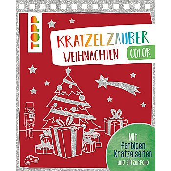 Buch 'Kratzelzauber - Weihnachten color'