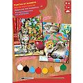 "Malen nach Zahlen mit Acrylfarbe ""Katzen"", 2 Motive"