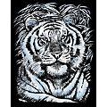 "Artfoil Image à gratter ""tigre"", 25 x 20 cm"