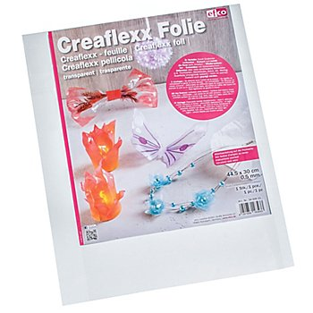 Creaflexx Film plastique, transparent, 44,5 x 30 cm