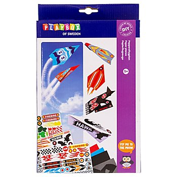 Papierflieger-Set, für 24 Flieger