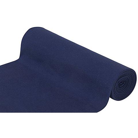 """Image of Glatter Bündchenstoff """"Comfort"""", marine"""