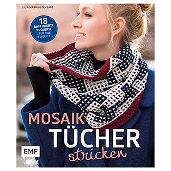 Buch 'Mosaiktücher stricken – 18 raffinierte Projekte für jede Gelegenheit'