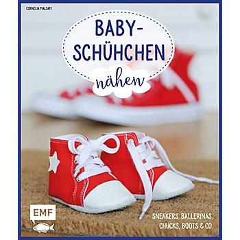 Buch 'Babyschühchen nähen – Sneakers, Ballerinas, Chucks, Boots & Co.'