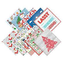Set de serviettes en papier 'traditionnel'