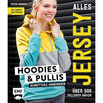 Buch 'Alles Jersey – Hoodies & Pullis'