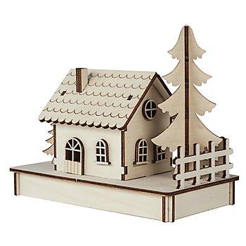 Kit créatif en bois '1 maisonette'
