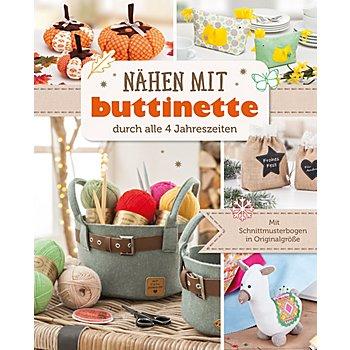 Buch 'Nähen mit buttinette - durch alle 4 Jahreszeiten'