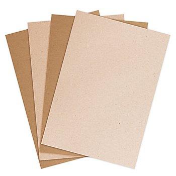 Set de papier kraft, marron clair/marron foncé, 21 x 29,7 cm, 50 feuilles