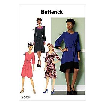 Butterick Schnitt B6409 'A-Linie-Kleid'