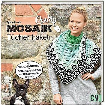 Buch 'CraSy Mosaik – Tücher häkeln'