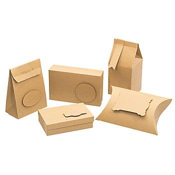 Ursus Geschenkboxen-Set 'Natura', braun