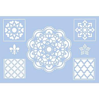 buttinette Pochoir 'style marocain', 29,5 x 20 cm