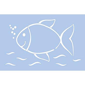 buttinette Schablone 'Fisch'