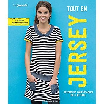 Livre 'Tout en jersey - vêtements confortables du S au XXL'