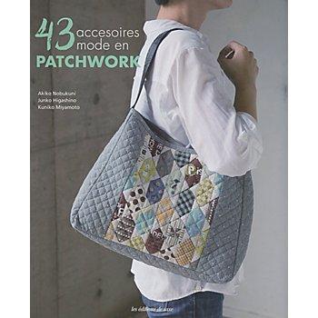 Livre '43 accessoires mode en patchwork'
