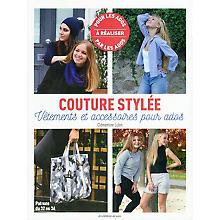 Livre 'Couture stylée - vêtements et accessoires pour ados'