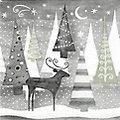 """Serviettes en papier """"forêt hivernale"""", 33 x 33 cm, 20 pièces"""
