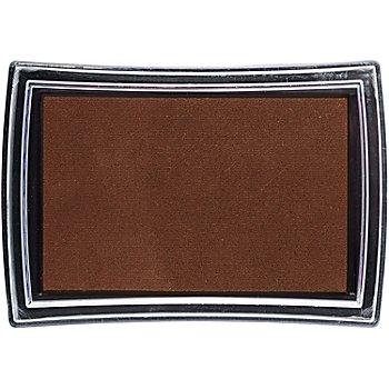 Stempelkissen, braun, 52 x 76 mm
