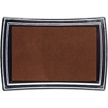 Tampon encreur, marron, 52 x 76 mm