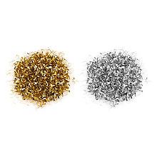 Folien Konfetti, gold-silber, 30 g
