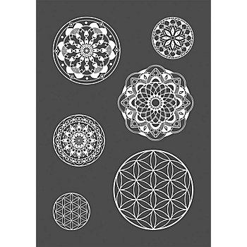 Rayher Siebdruck-Schablone 'Mandala'