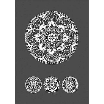 Rayher Siebdruck-Schablone A5 'Mandala'