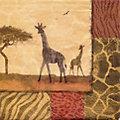 """Papierserviette """"Giraffe"""", 33 x 33 cm, 20 Stück"""