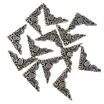 Set d'accessoires Steampunk 'angles', 15 pièces